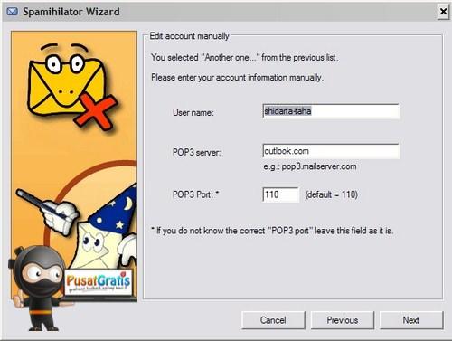 Cegah Spam Masuk ke Email Client dengan Spamihilator