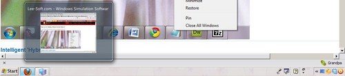 ViGlance: Mempercantik Windows XP dengan Taskbar Ala Windows 7