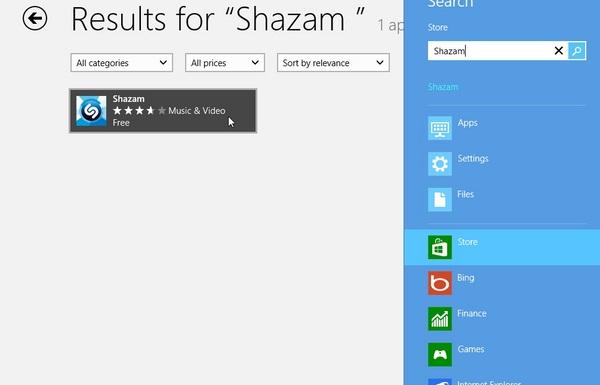 Aplikasi Shazam Sekarang Sudah Ada di Windows 8