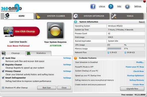 Optimalkan Kinerja PC atau Laptop kamu dengan 360 Amigo!