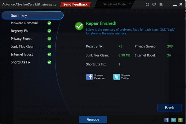 Advanced SystemCare Ultimate: Satu Aplikasi untuk Antivirus, Registry Cleaner dan System Optimizer!