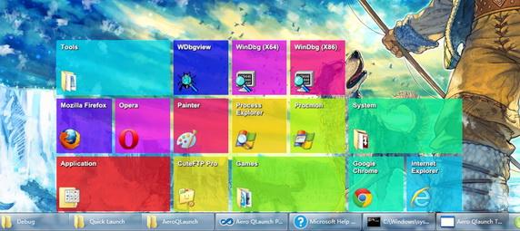 Mempercantik Tampilan Desktop dengan Aplikasi Aero Launch