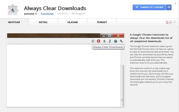 Cara Menyembunyikan Download Bar Pada Chrome Secara Otomatis