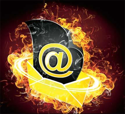 Aplikasi untuk Menghancurkan Email