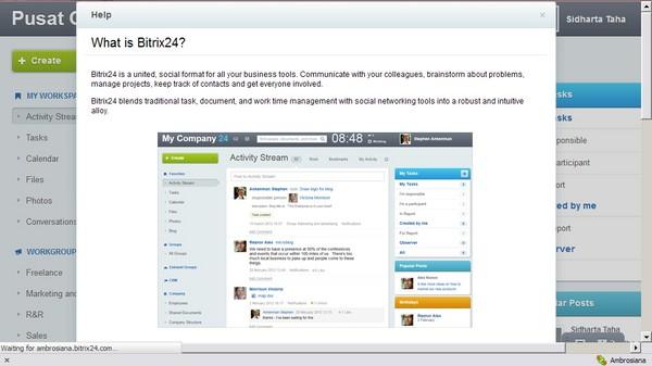 Bitrix24: Web Aplikasi Manajemen Proyek yang Bisa Sharing File dengan iOS