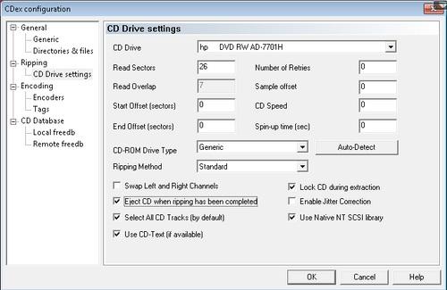 Ripping CD Dengan Cepat Dan Mudah Menggunakan CDex