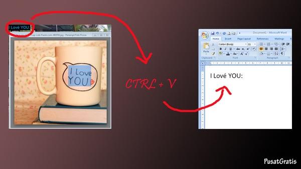 Ubah Foto Dokumen Menjadi Teks Menggunakan Capture2Text