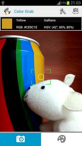 Deteksi Susunan Warna Di Android Menggunakan Color Grab