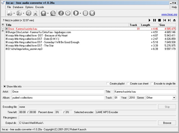 Freac: Software Converter dan CD Ripper yang Powerfull Untuk Multi-Core PC