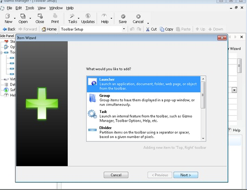 Gizmo Toolbar: Launcher Keren Yang Akan Mempercantik Tampilan Desktop