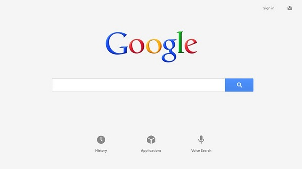 Aplikasi Official Google Search Sudah Ada di Windows 8