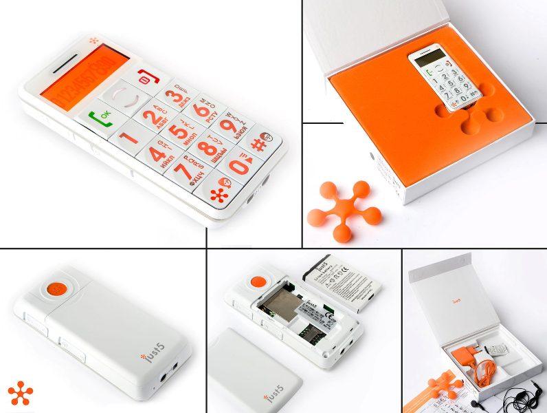 Just5 : Handphone Klasik Khusus Manula