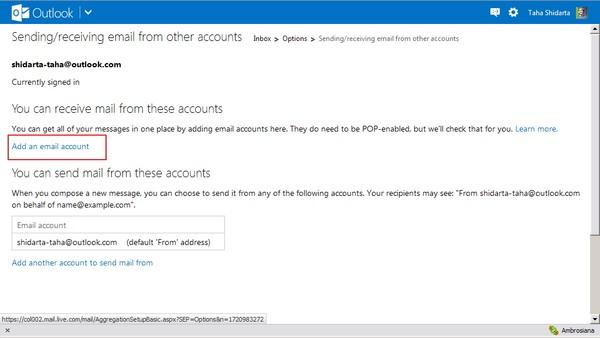 Tips Menggabungkan Inbox Email Lintas Akun - Part #2