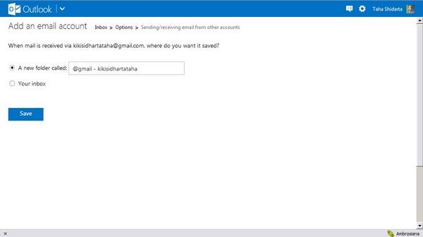 Menggabungkan Inbox Email Lintas Akun - Part #2