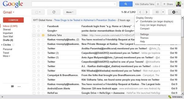 Tips Menggabungkan Inbox Lintas Akun Email#1