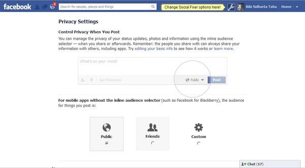 Tips Menyembunyikan Informasi Pribadi Kamu di Facebook