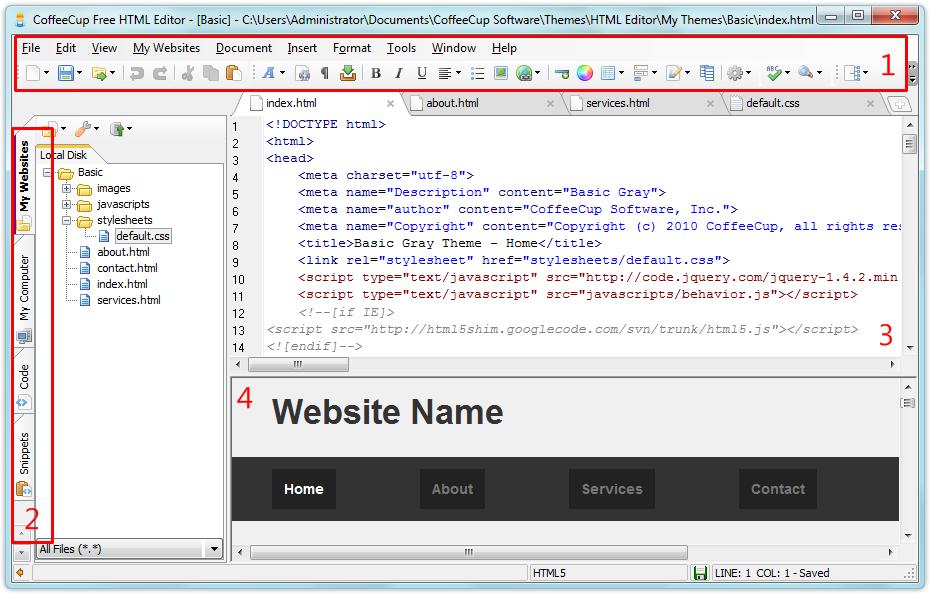 Mudahnya Membuat Website dengan CoffeeCup HTML Editor