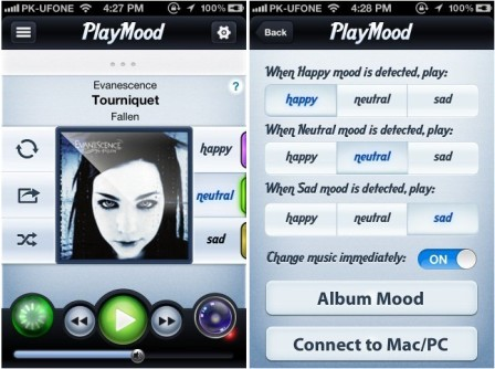 Playmood Aplikasi iPhone yang Memilihkan Lagu Sesuai Mood
