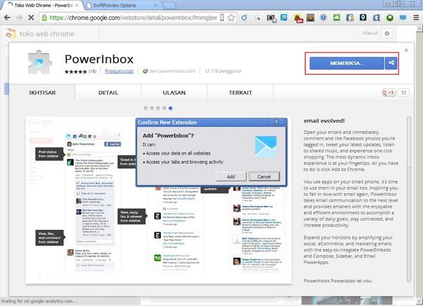 PowerInbox, Ekstensi Chrome untuk Komen ke Jejaring Sosial Lewat Email