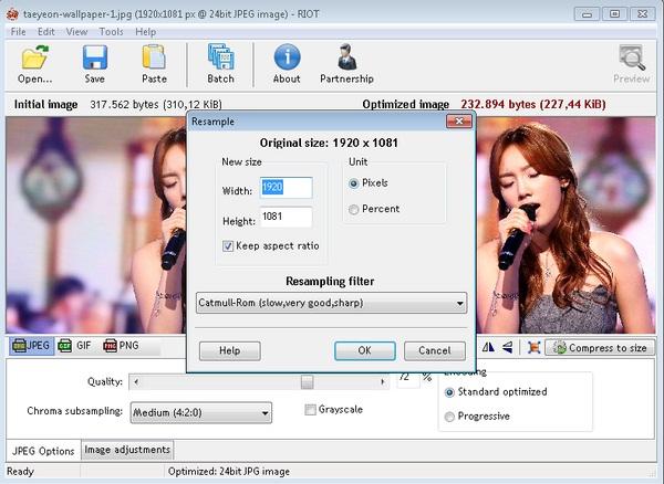 RIOT: Software Kompres Gambar yang Multifungsi dan Mudah Digunakan