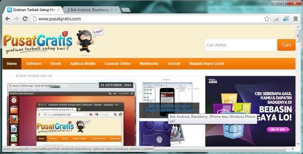 Daftar Shortcut Keyboard yang Berjalan Pada Semua Browser