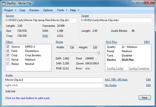 StaxRip: Software Video Converter Portabel yang Mudah Digunakan