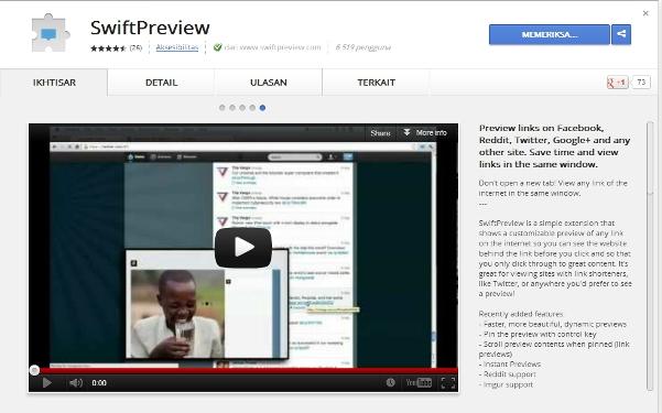 Pengen Tahu Konten Gambar dan Video dalam Link Tertentu? Gunakan SwiftPreview!