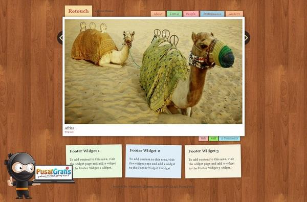 Template WordPress Gratis yang Responsif dan Keren