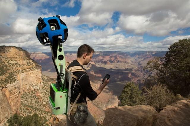 Trekker : Kamera Berukuran Tas Punggung yang di Bawa Google ke Grand Canyon