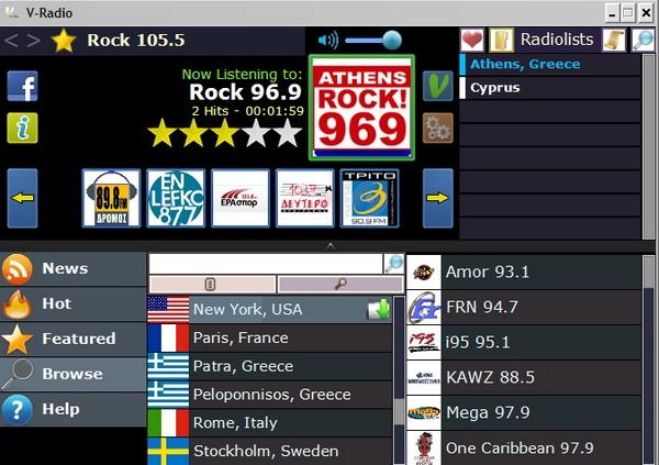 Mendengarkan Radio dari Seluruh Dunia dengan VRadio
