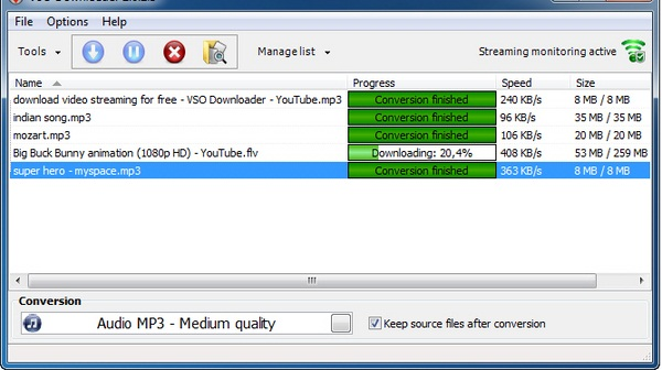 Download Video dan Audio Dari Situs Streaming Menggunakan VSO Downloader
