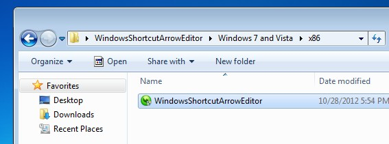 Cara Menghilangkan Tanda Panah di Shortcut Windows