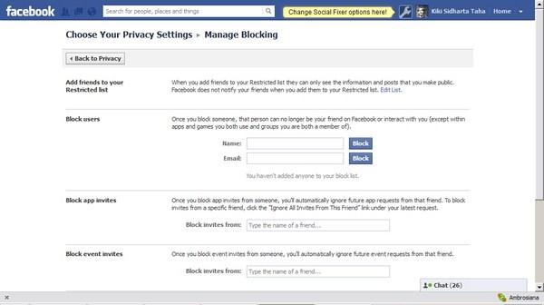 Cara Menghindar dari User yang Menyebalkan di Facebook