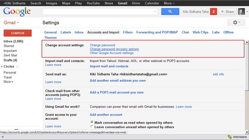 5 Cara Mengamankan Akun Gmail Kamu