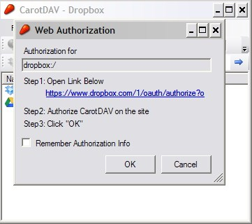 Memanajemen Berbagai Akun Cloud Storage dengan CarotDAV