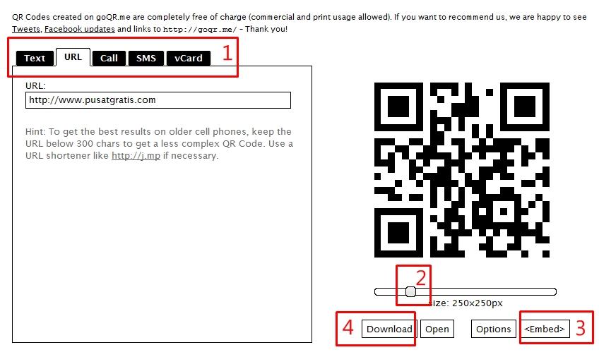 Cara Cepat Membuat Sendiri QR Code Online