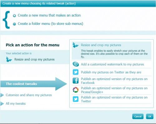 CoolTweak: Mengatur Gambar dengan Cepat Melalui Context Menu