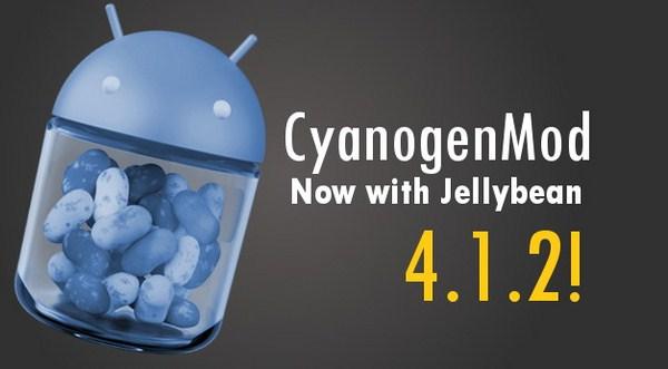 Update Android 4.1.2 Sudah Dimasukkan ke CyanogenMod 10