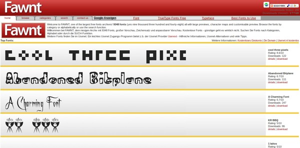 10 Situs Terbaik untuk Mendownload Font Gratis
