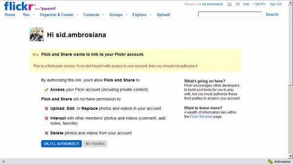 Mendownload Flickr Set Cukup dengan Satu kali Klik
