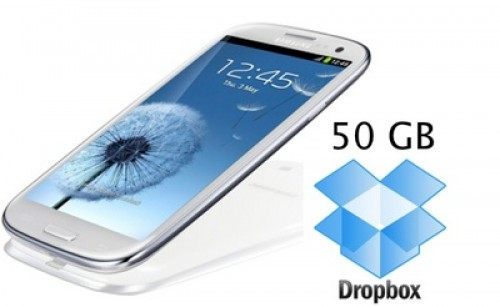 Dropbox Gratis 50GB Untuk Samsung Galaxy Note 2 dan Samsung Galaxy Camera