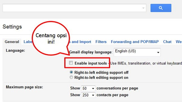 Gmail Kini Dilengkapi Ratusan Virtual Keyboard Berbagai Bahasa