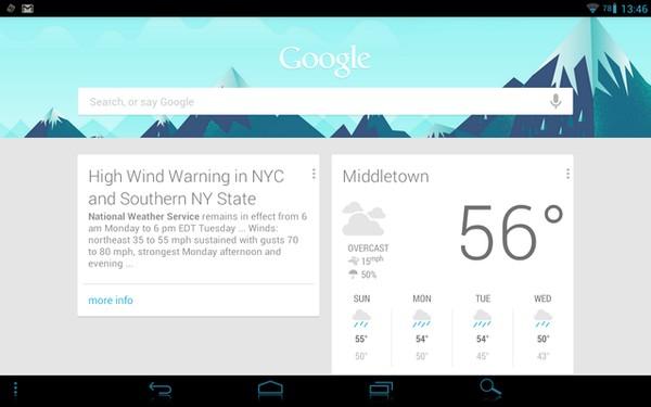 Google Now Kini Dipakai untuk Memberi Peringatan Bencana