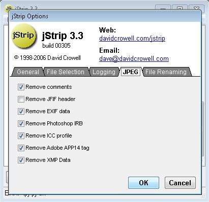Kompres Ukuran File Gambar Hanya Dengan Satu Klik Menggunakan jStrip