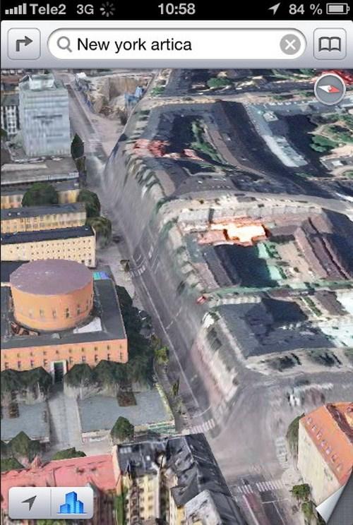 Ada jurang sedalam 15 meter di tengah kota Stockholm, Swedia.