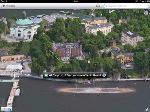 Af Chapman, sebuah kapal yang menjadi asrama pemuda di Stockholm telah tenggelam!