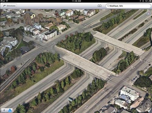 Jalan yang aneh di Oakland
