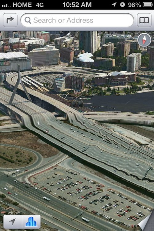Jembatan Zakim di Boston, surga bagi pecinta motocross!