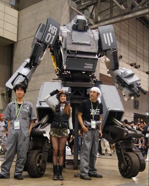 Kuratas: Robot Tempur Canggih Buatan Jepang yang Bisa Dikendarai & Dikontrol dengan Smartphone