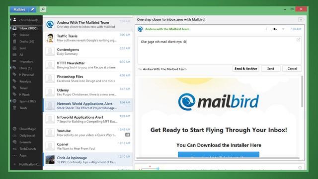 10 Software Email Client Gratis Terbaik Untuk Windows